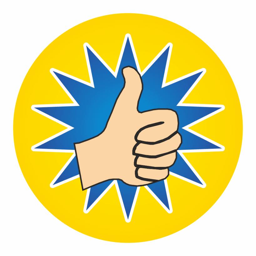 819x819 Mini Thumbs Up Stickers School Stickers For Teachers