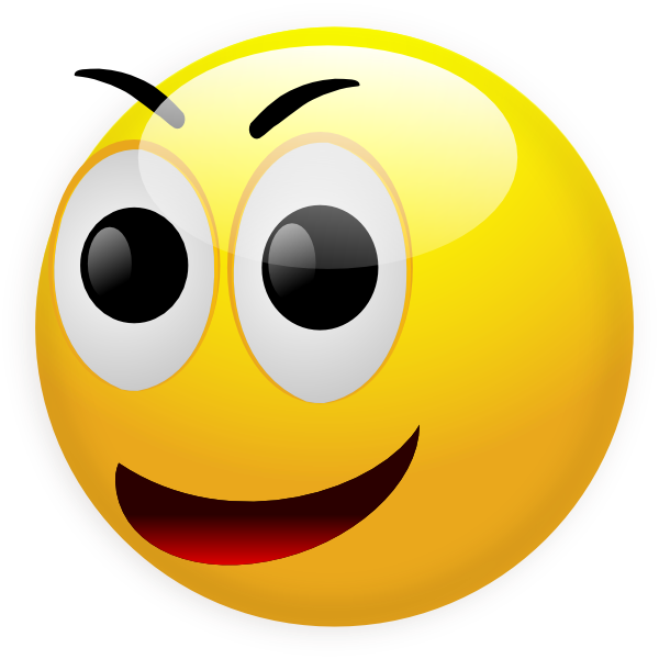 600x600 3d Clipart Smiley Face