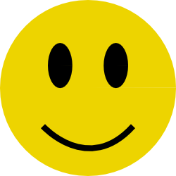 250x250 Clipart Free Smiley
