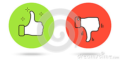 400x200 Thumbs Up Thumbs Down Clipart Free