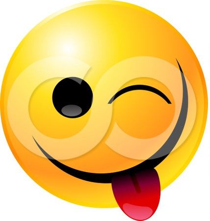 428x450 Smiley Face Thumbs Down Clipart 332781 Ce Teasing Winking