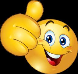 256x243 Emoticon Thumb Up Transparent Png