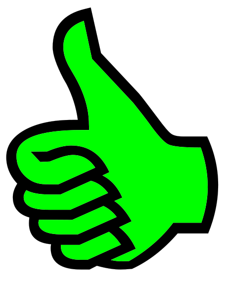 463x599 The Thumbs Up