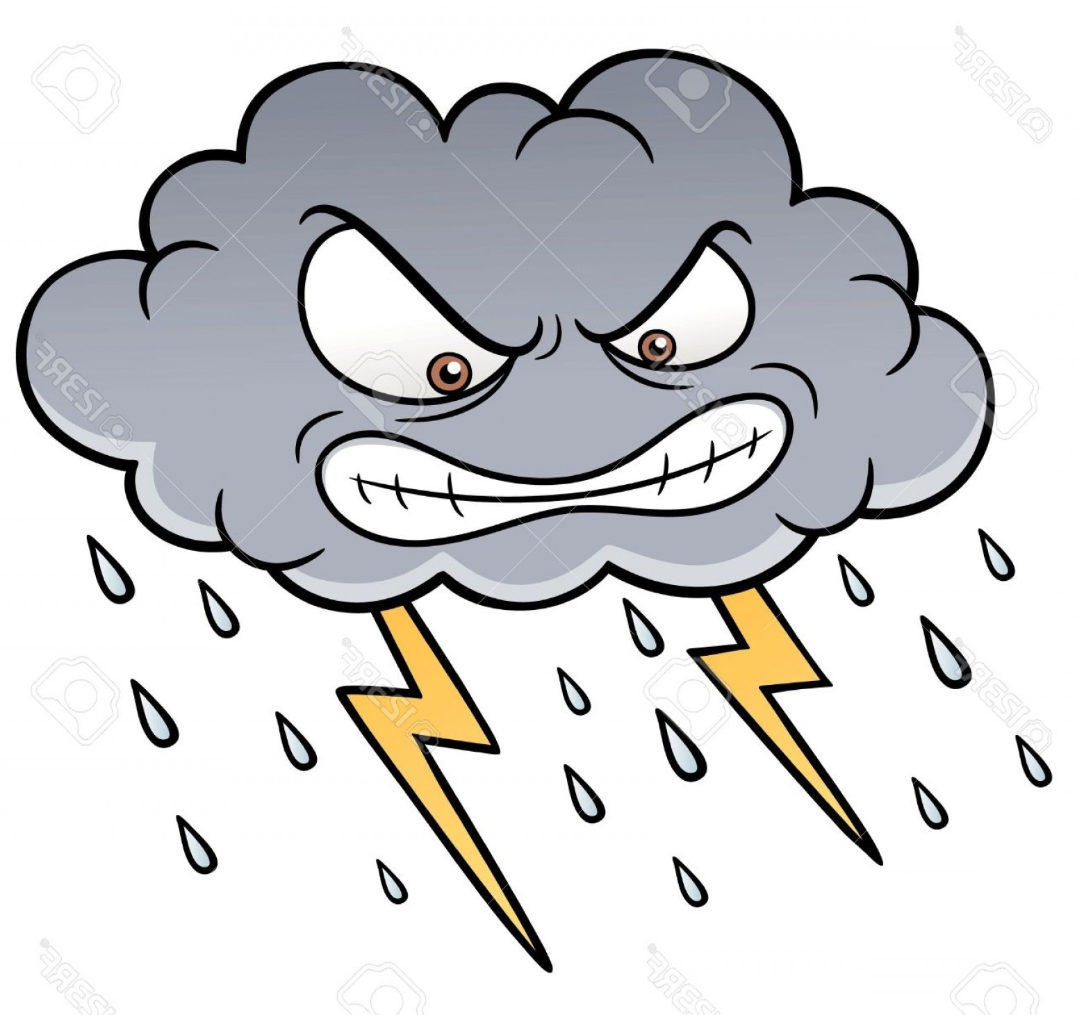 1560x1461 Storm Clipart Stormy Weather