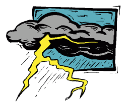 250x211 Strong Thunderstorms Clipart