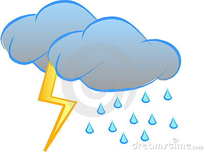 400x297 Thunderstorm Clipart