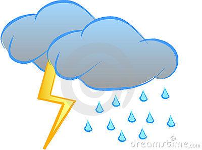 400x297 Thunderstorm Clipart