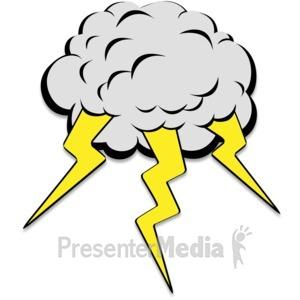 300x300 Thunderstorm Clipart Lighting Storm