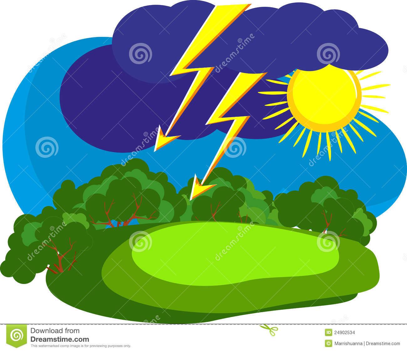 1300x1124 Thunderstorm Clipart Rainstorm