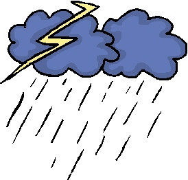 274x262 Thunderstorm Clipart Stormy Day