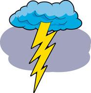 186x190 Thunderstorm Clipart Thunder And Lightning