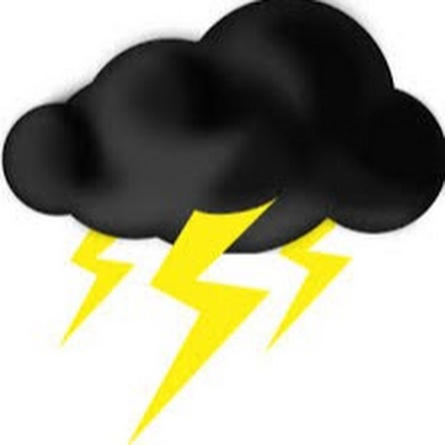 900x900 Thunderstorms Clipart