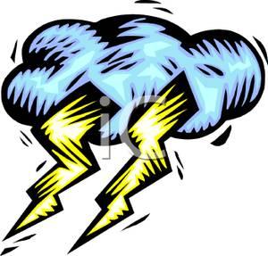 300x287 Lightning Bolts In A Storm Cloud
