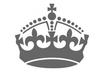 360x250 Crown Stencil Shapes