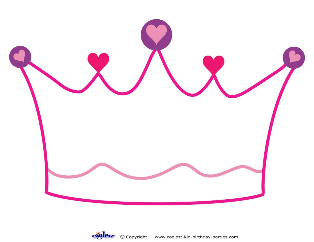1100x850 Princess Crown Template Great Printable Calendars
