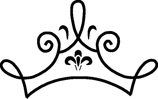 600x376 Tiara Outline Clipart Kid