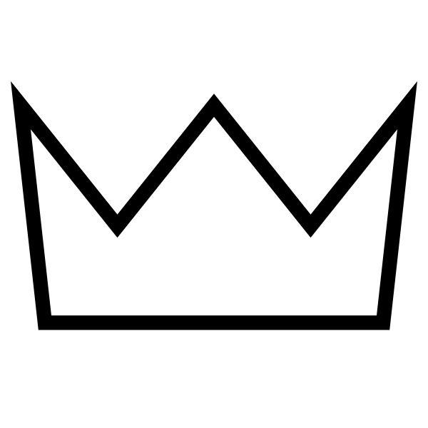600x600 Best Crown Outline Ideas Crown Template