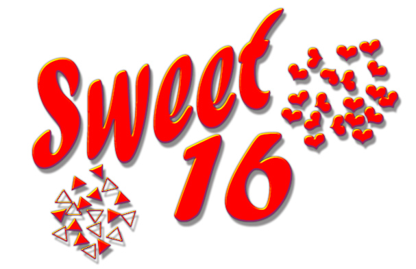607x392 Graphics For Sweet 16 Crown Graphics