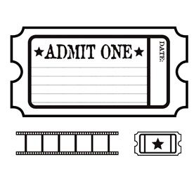 276x275 Movie Ticket Clip Art