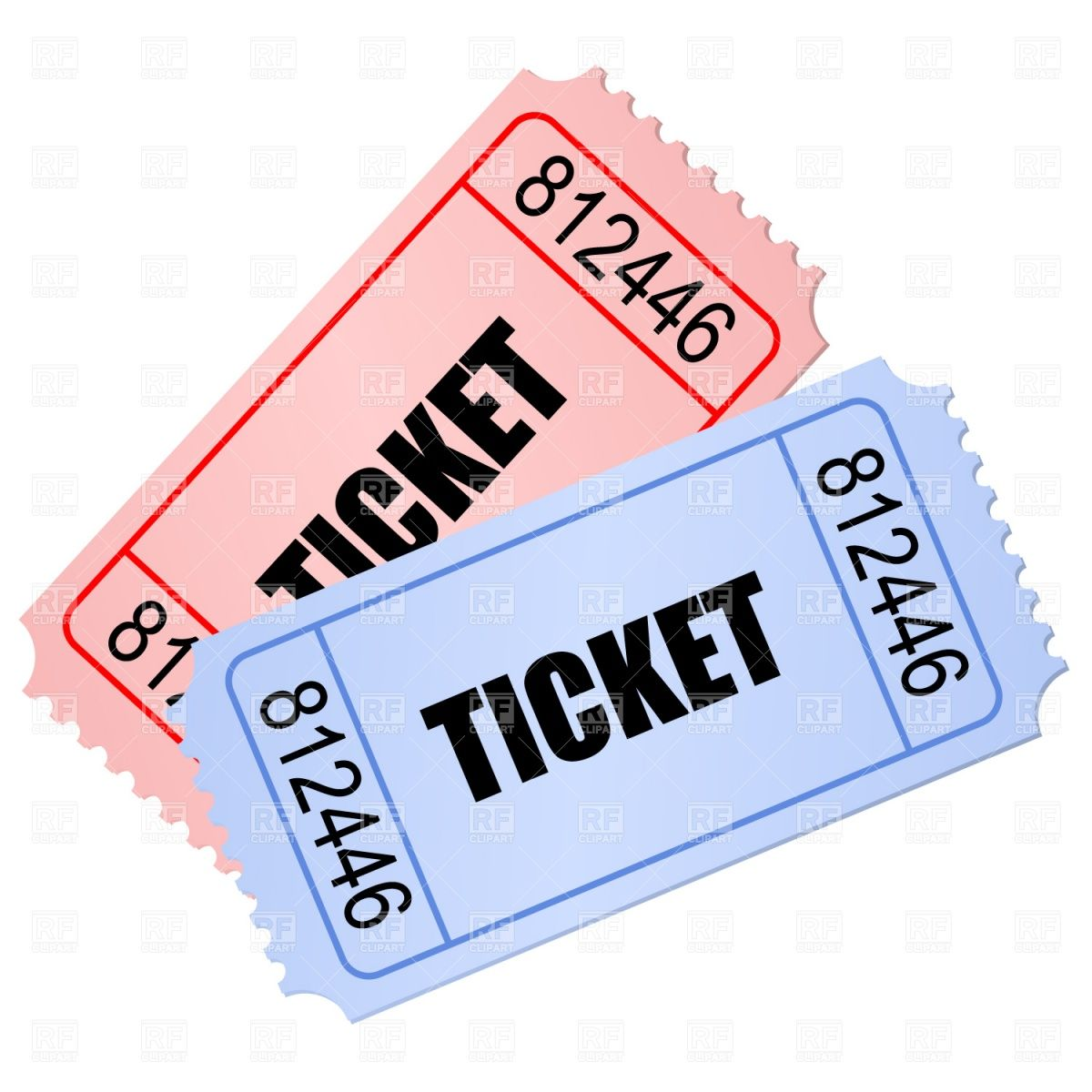 1200x1200 Ticket Clip Art