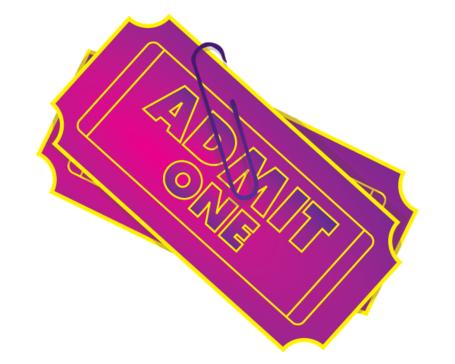 455x364 Admit One Ticket Clip Art, Vector Admit One Ticket