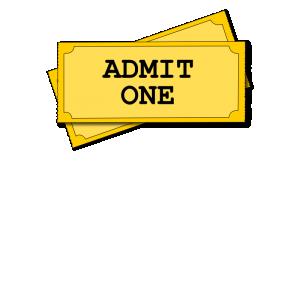300x300 Admit One Clip Art Download