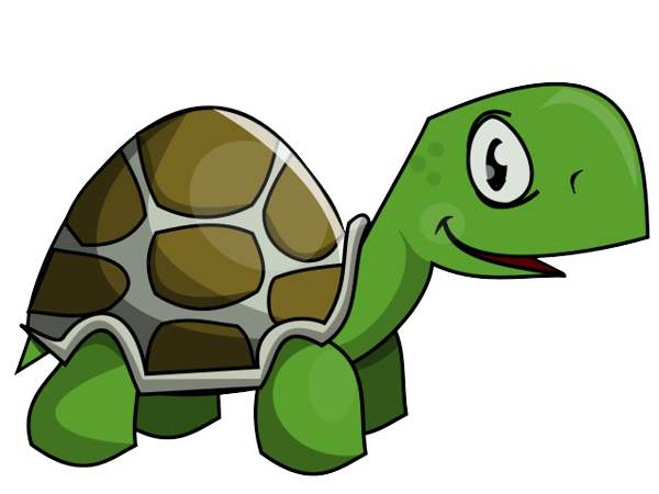600x450 Land Turtle Clipart
