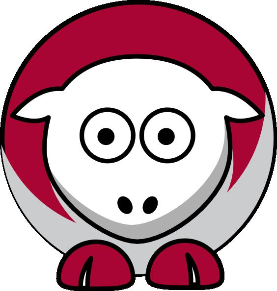 564x594 Sheep Alabama Crimson Tide Team Colors