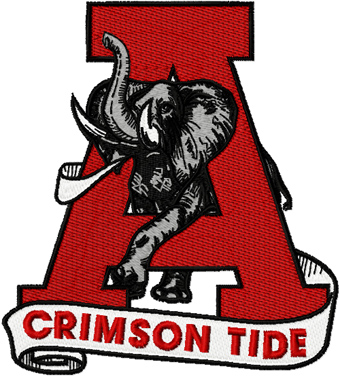340x377 University Of Alabama Clip Art Alabama University Crimson Tide