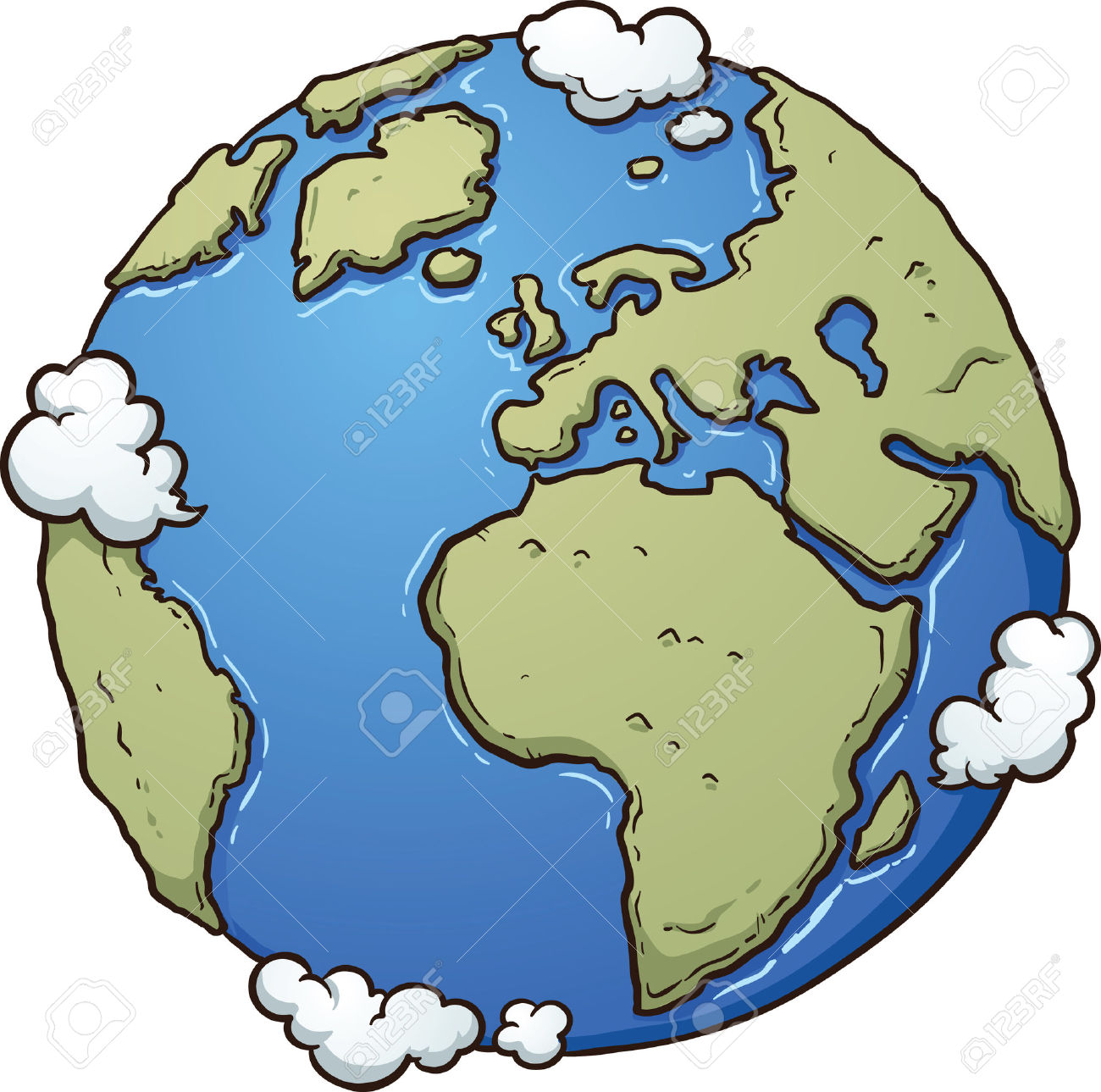 1300x1289 Planet Earth Clipart Simple