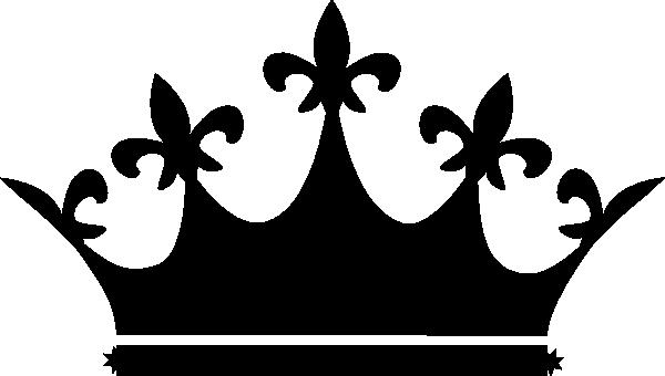600x340 Black Tiara Clip Art
