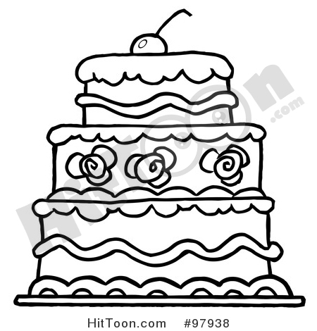 450x470 Cake Clipart