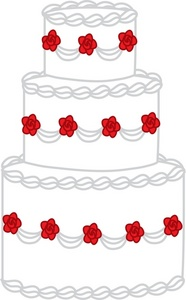 186x300 Cake Clipart Image