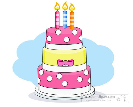 550x441 Graphics For Three Tier Cake Clip Graphics