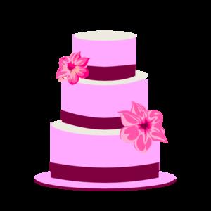 300x300 Tiered Cake Clip Art