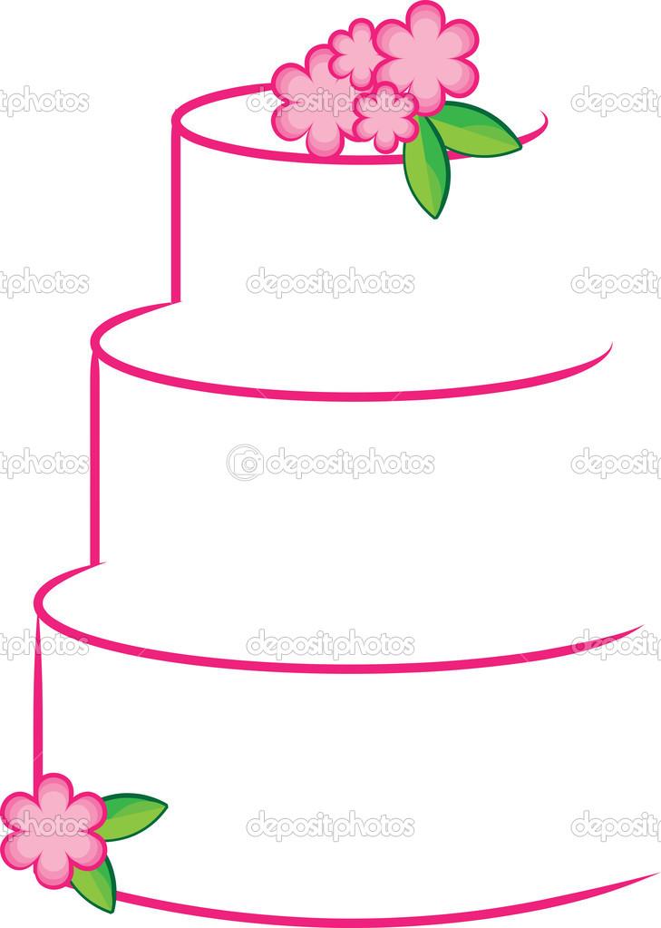 729x1023 3 Layer Cake Clip Art Clipart
