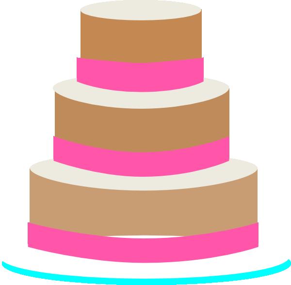 600x587 Wedding Cake Clip Art