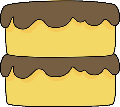 500x446 Yellow Cake Clip Art