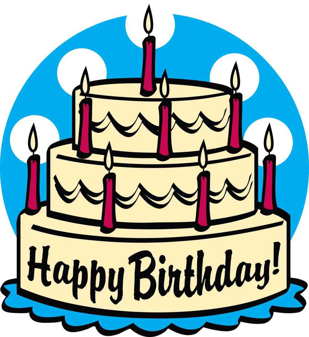 1000x1093 Art Cake Birthday Clipart 4 Cakes 5