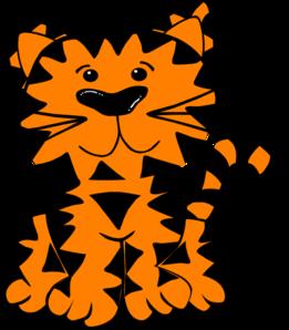 261x298 Tiger Clip Art