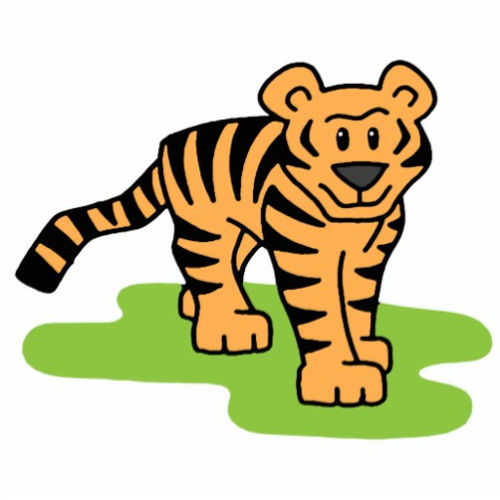 500x500 Tiger clip art images free clipart