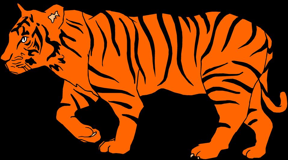 958x533 Bengal Tiger Clip Art
