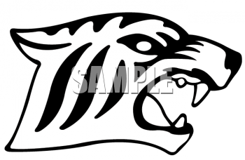 350x228 Royalty Free Tiger Clip Art, Big Cat Clipart