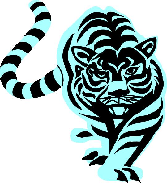 540x593 Tiger Clip Art