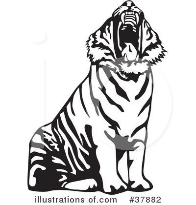 400x420 Tiger Clipart