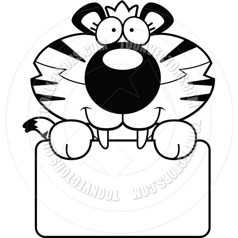 940x940 White Tiger Clipart Baby Tiger