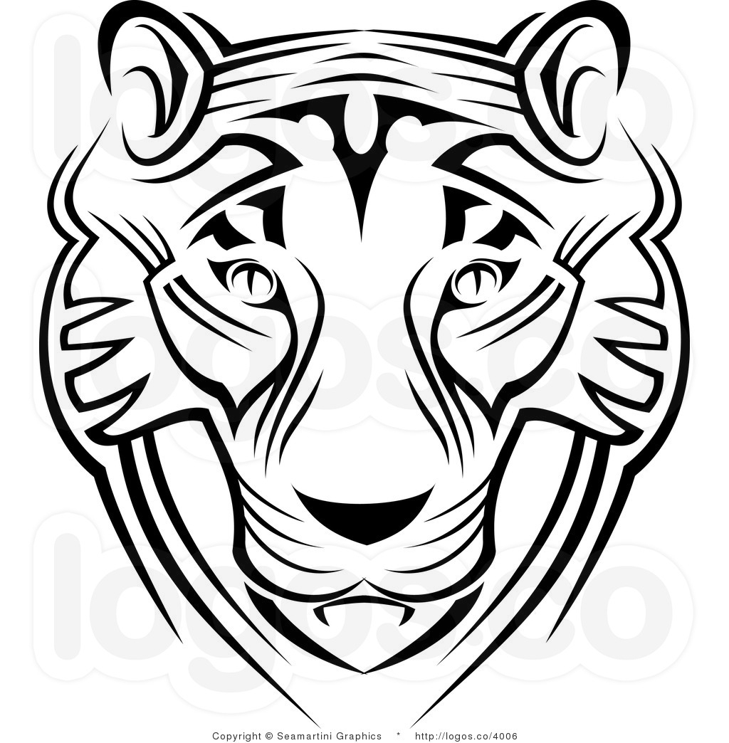 1024x1044 Free Tiger Face Clip Art