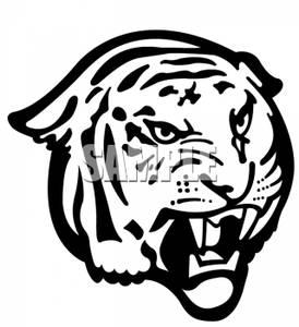 274x300 Tiger Clip Art Black and White – Cliparts