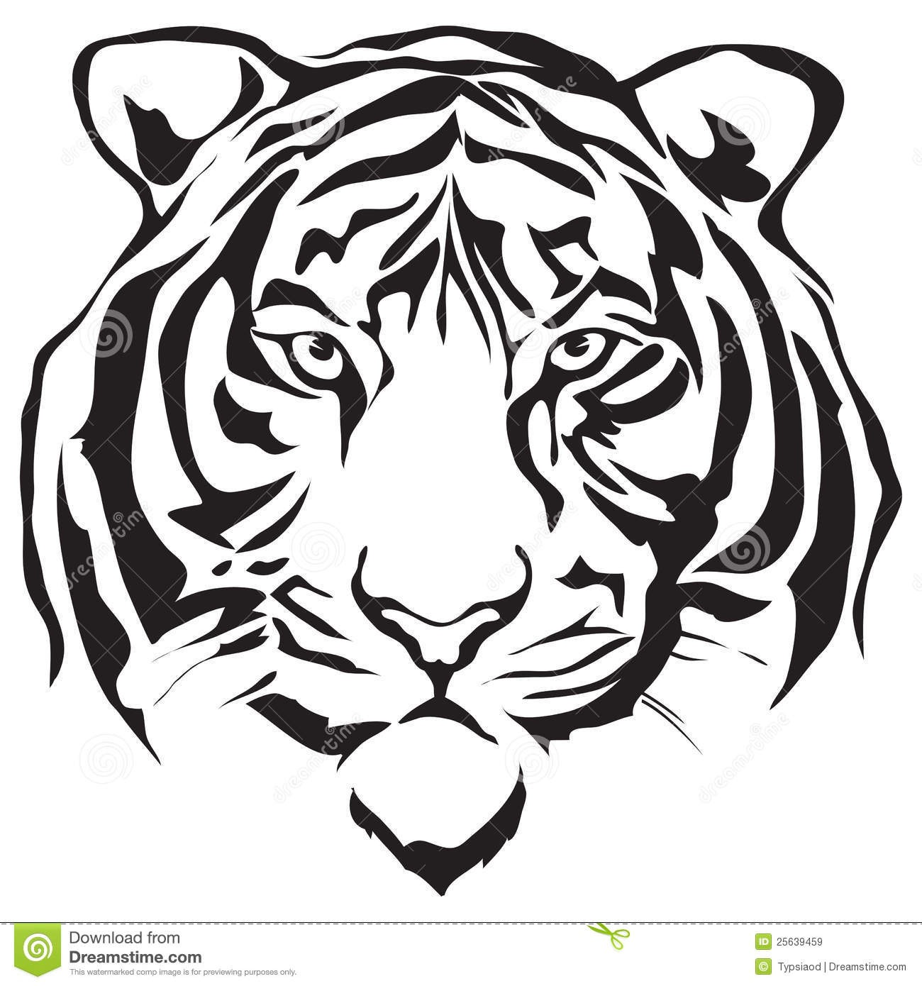 1300x1390 Baby Tiger Face Clipart Black And White Letters Format