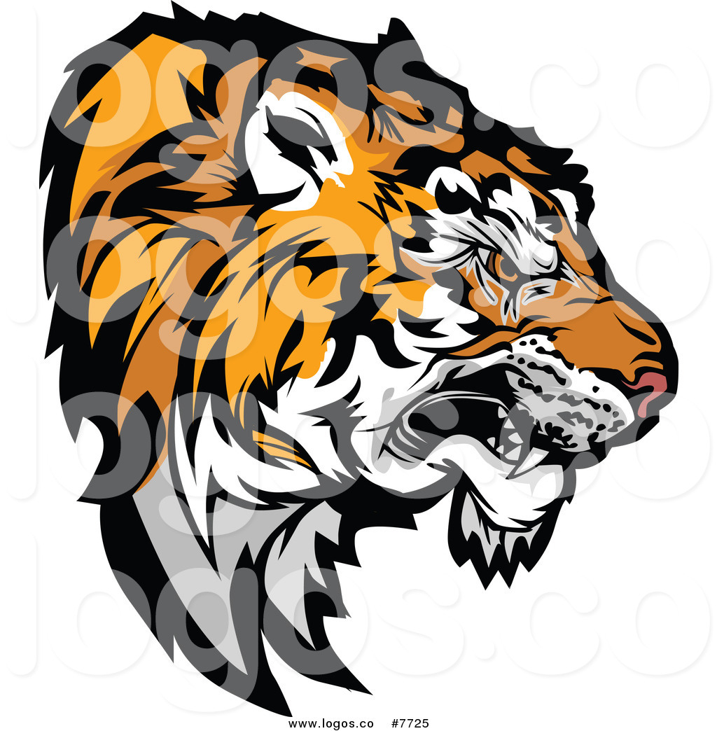 1024x1044 Royalty Free Tiger Mascot Stock Logo Designs